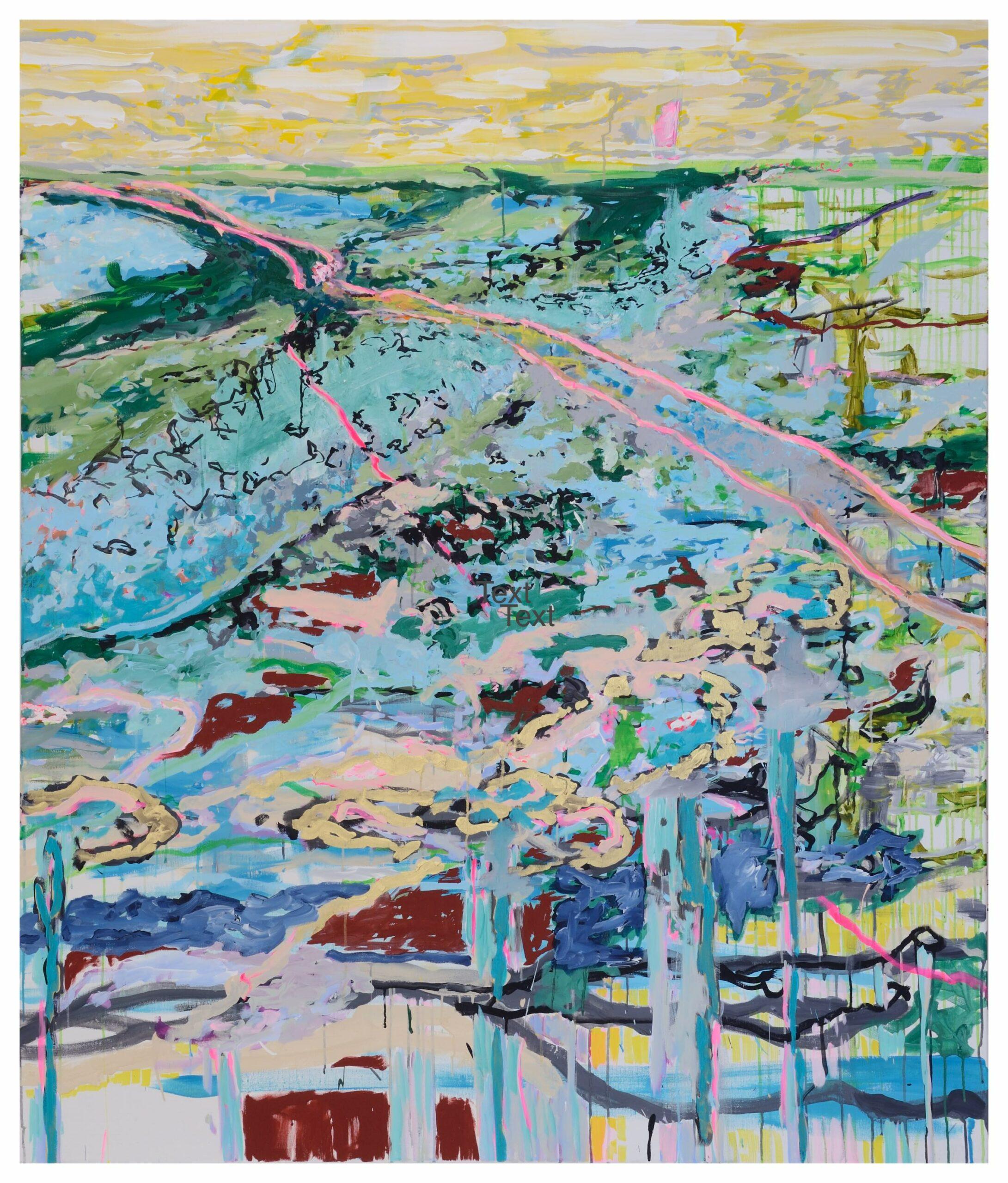 o.T. Acryl auf Leinwand, 190 x 160 cm