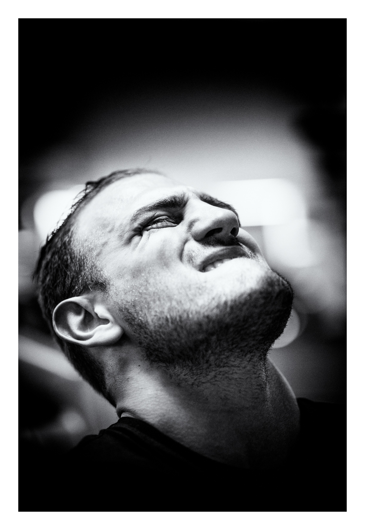 Gelsenkirchen 06.04. Francesco Pianeta  beim Krafttraining in einem Gelsenkirchner Fitnessstudio