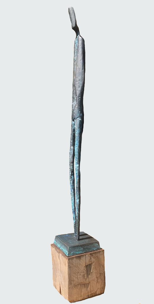 Hilke Turré, Thymoeides, 2015 Bronze, Höhe 142 cm