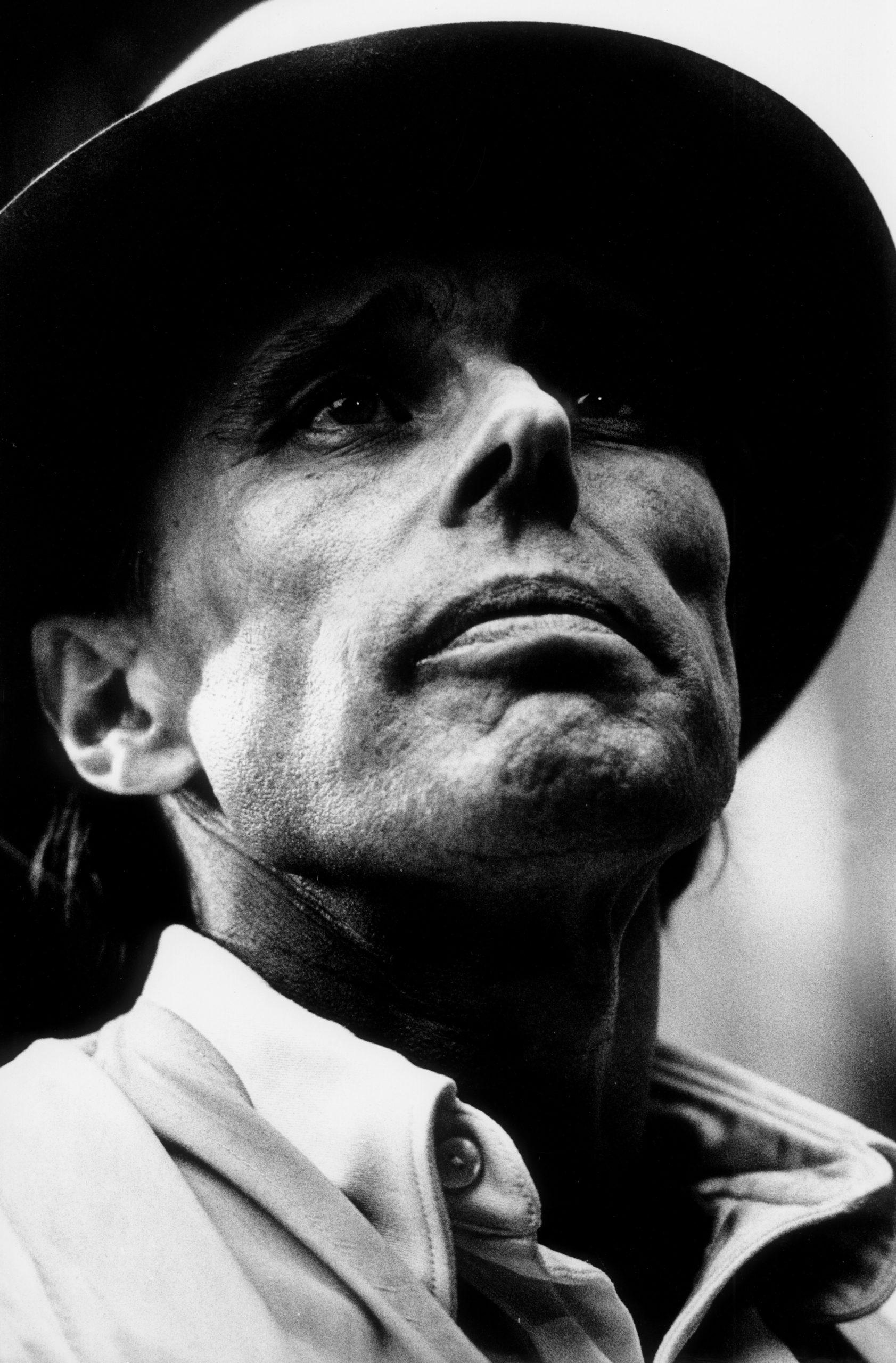 """Manfred Vollmer """"Joseph Beuys"""" 1970"""