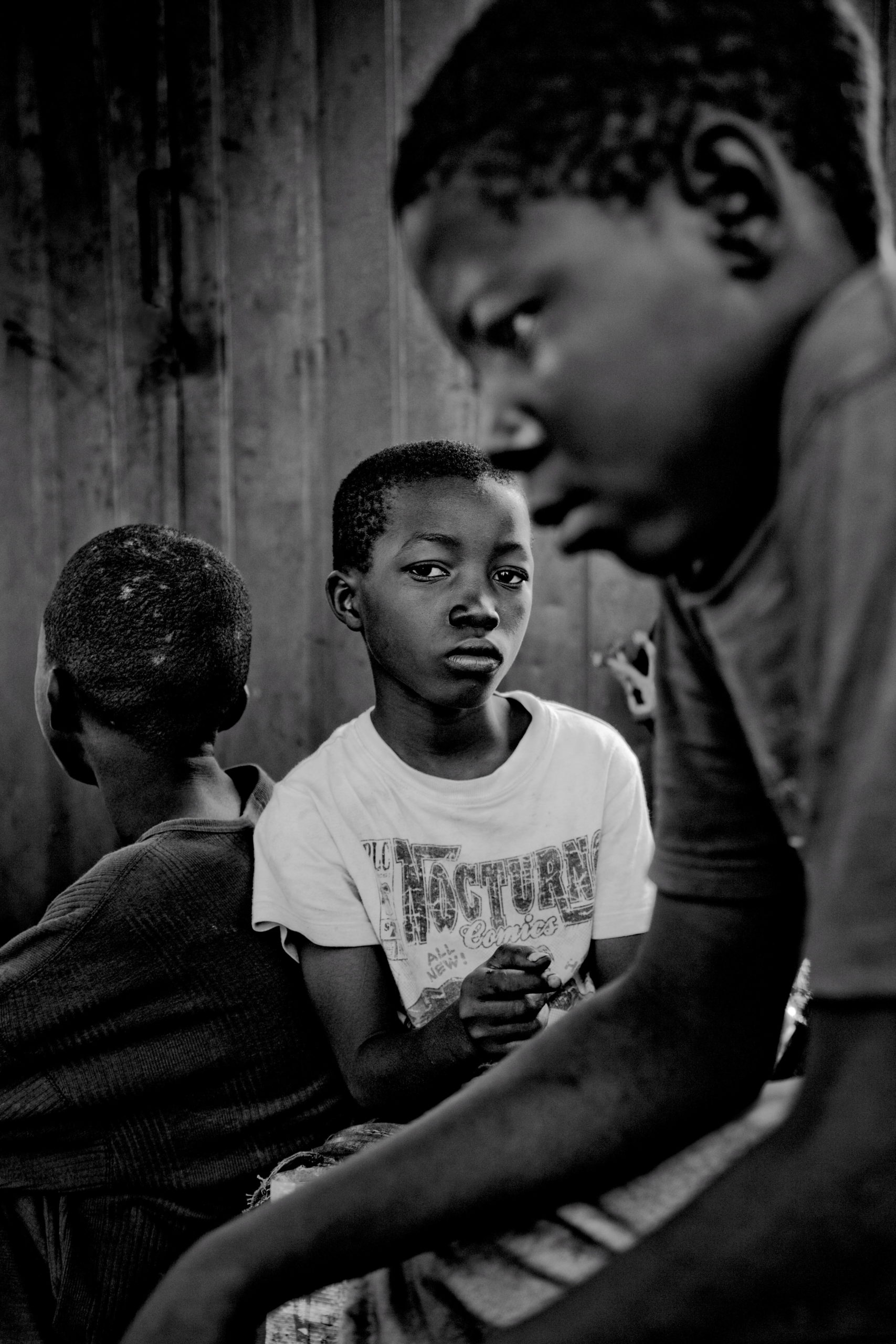 """Martin Steffen """"Kwame Adgei, Emanuel Antwi und Alhasan Hamin"""" Ghana 2011"""