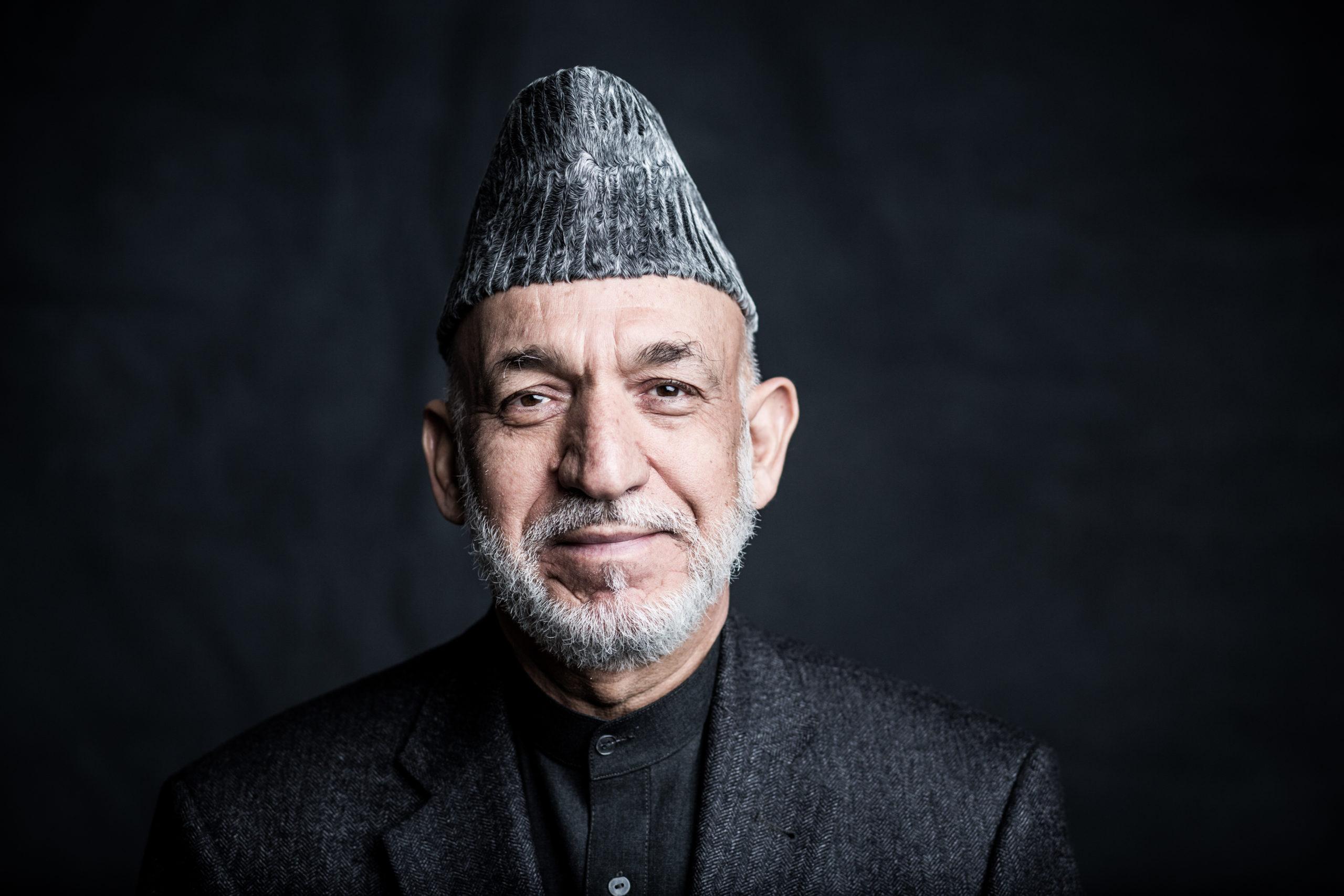 Martin Steffen Hamid Karzai, ehemaliger Praesident Afghanistans, 2017